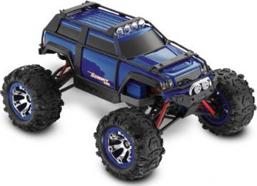 TRX-72074B Traxxas Summit VXL 1/16th Brushless Truck - Blue